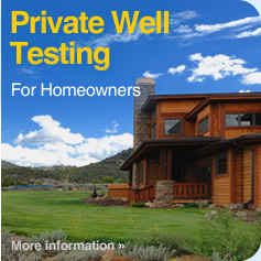 Private Well Testing for Homeowners
