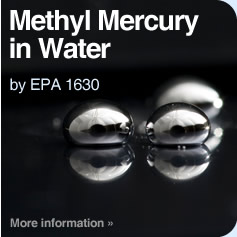 Methyl Mercury in Water by EPA 1630