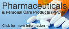 Pharmaceuticals & Personal Care Products (PPCPs)