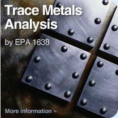Trace Metals Analysis by EPA 1638